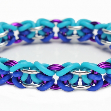 *LIMITED TIME* Lock & Twist Bracelet kit - Blue/Turquoise - from New Connections book