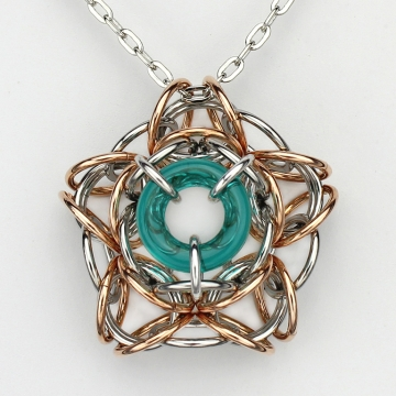 *LIMITED TIME* Interstellar pendant kit - Teal - from New Connections book